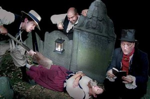 Gravediggers of the Ghost Tour St Augustine